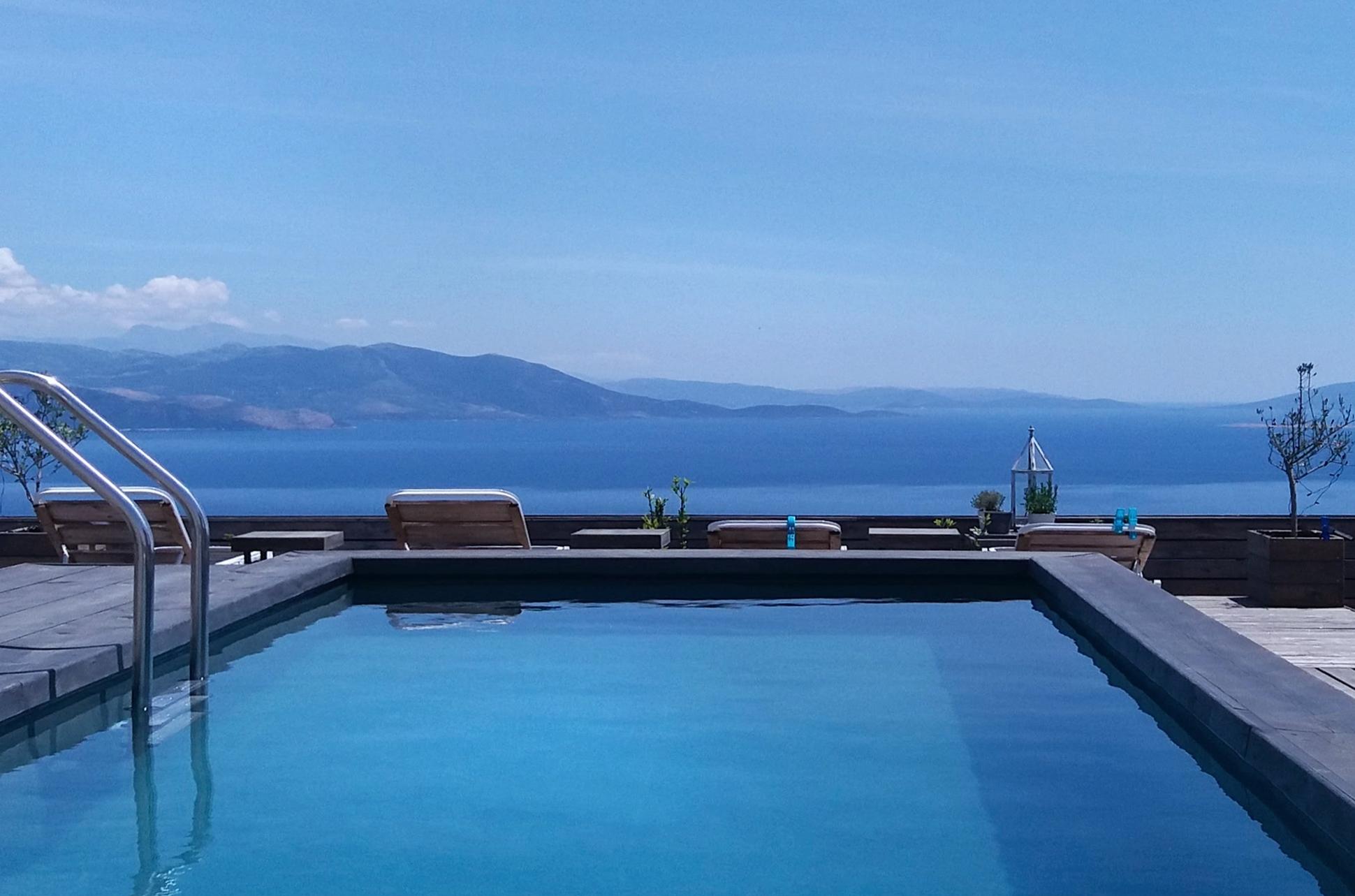 Modern-architecture Villa in Marathon, Greece